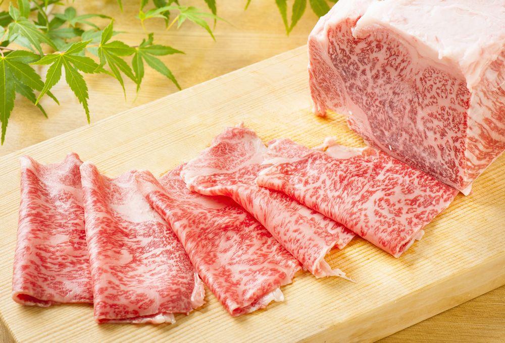 A5仙台牛のすき焼き、しゃぶしゃぶ