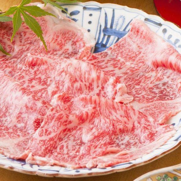 銀座の個室で味わうふぐ料理 A5仙台牛のしゃぶしゃぶ